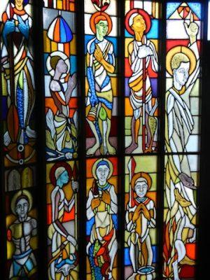 Kirchenfenster in Uganda