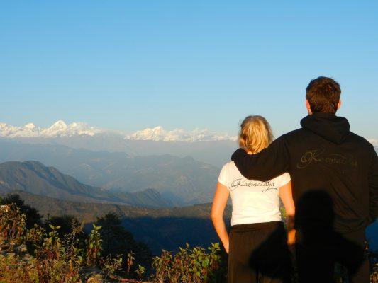 Tina und Matthias Eckert in Nepal