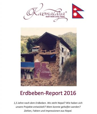 Deckblatt des Erdbeben-Report 2016