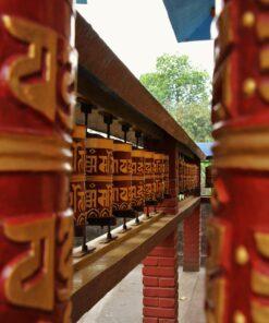 Gebetsmühlen in Pokhara
