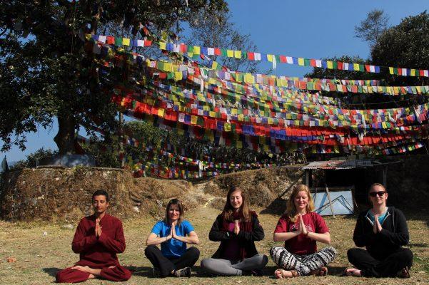 Karmalaya Kloster-Meditation