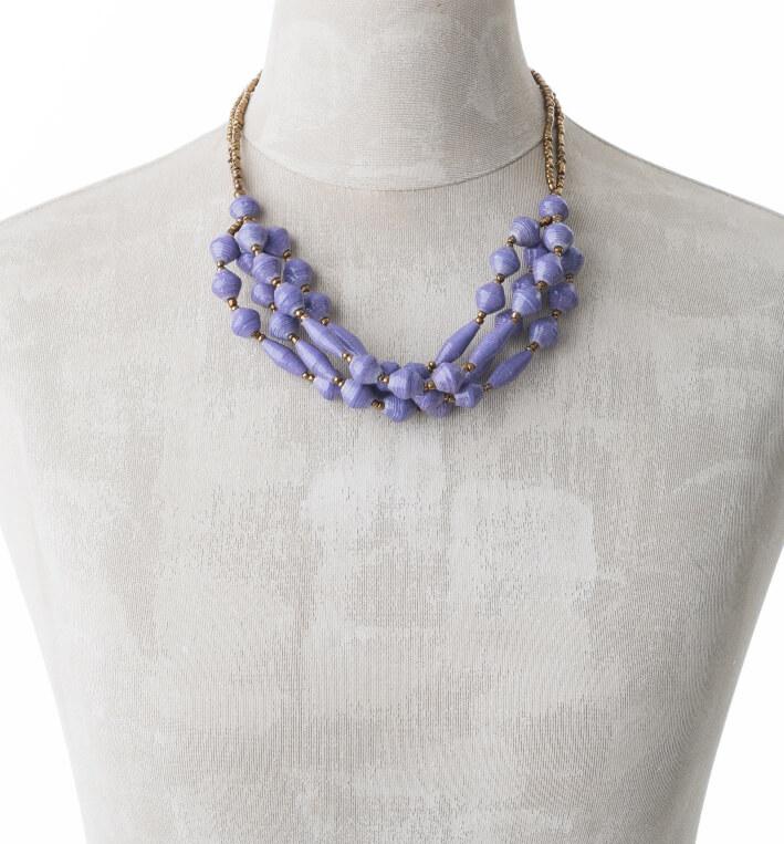 KALiARE-Kette Modell Felistas in der Farbe Lavendel