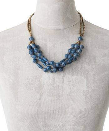 KALiARE-Kette Modell Felistas in der Farbe Shabby-Blue