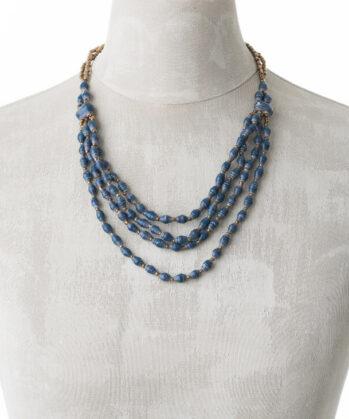 KALiARE-Kette Modell Aida in der Farbe Shabby-Blue