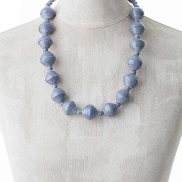 KALiARE-Kette Modell Harriet in der Farbe Blau-Grau