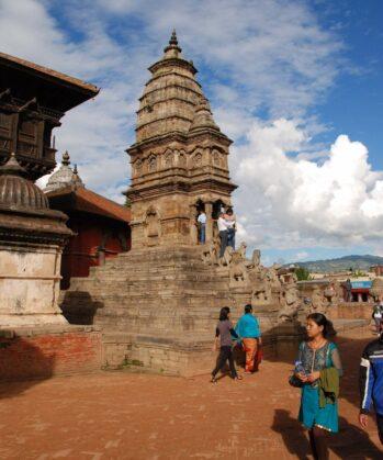 Sightseeing in der alten Königsstadt Bhaktapur