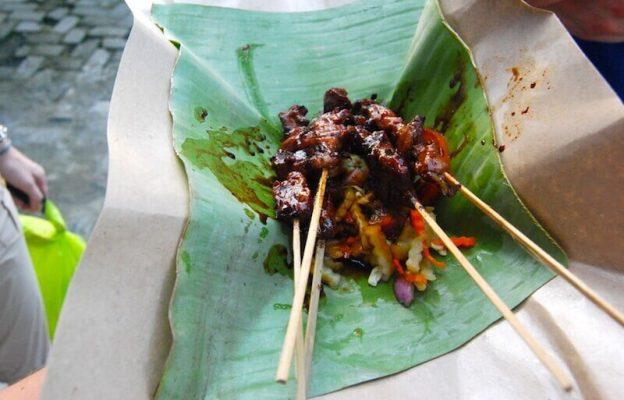 Typisch indonesisches Essen