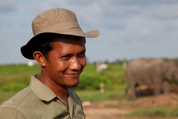Mahout im Elefantenworkcamp