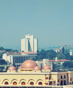 Nationale Moschee in Kampala