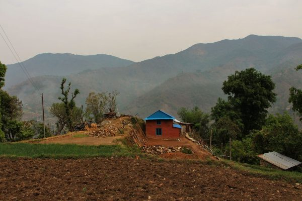 Kleines Häuschen in Gaujini