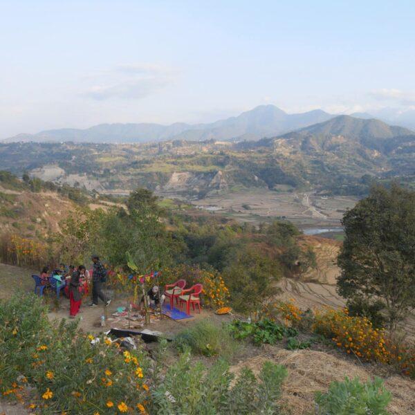 Yoga Retreat mit Panoramablick