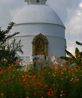 Friedensstupa in Pokhara