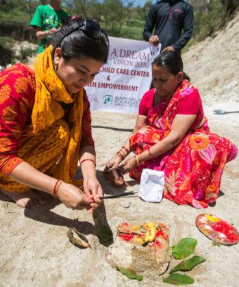 Bau-Workcamp Karmalaya Nepal