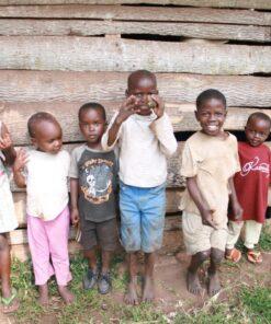 Kinder im Childcare Center in Zentraluganda