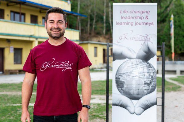 Matthias Eckert auf der Leadership-Journey 2019 in Nepal