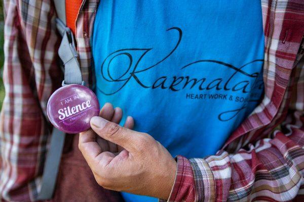 Karmalaya Silent-day Buttons