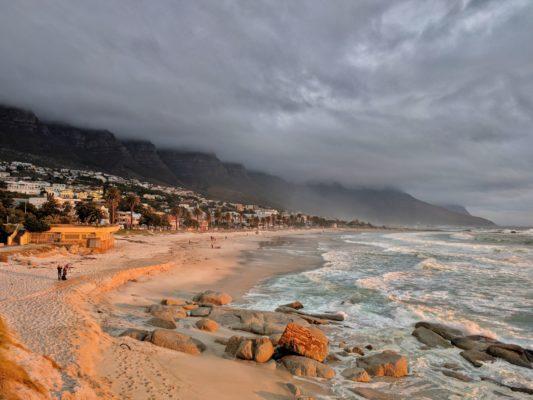 Strand in Kapstadt