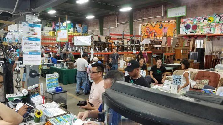 Verkaufsraum ReStore Hawaii