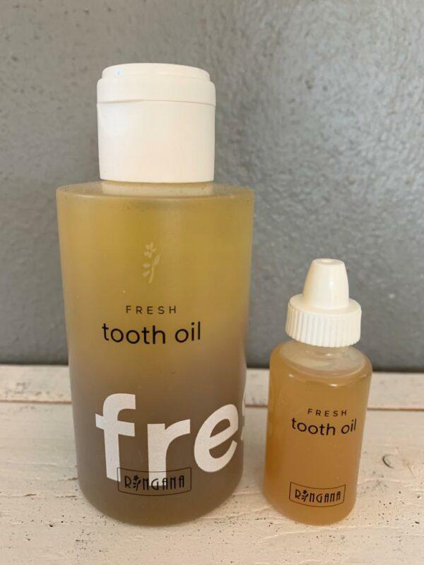 RINGANA Zahnöl und Zahnöl-Sample